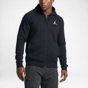 Sweatà capuche de basketball entièrement zippé Jordan Flight pour Homme - Noir