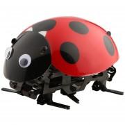 EH Mariquita Electrónica Control Remoto Juguete DIY Al Bricolaje Ladybug Regalo Navidad - Rojo Negro