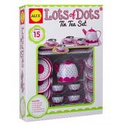 Alex Toys Lots of Dots Tin Tea Set, Multi Color