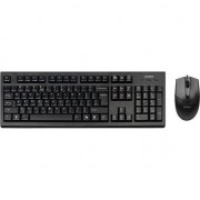 Kit tastatura + mouse A4Tech KR-85550, USB, Negru
