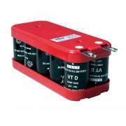 Pack de baterías 12V 4000mAh Ni-Cd SAFT VTDCD4000 X 10