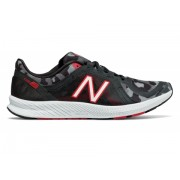 New Balance Women's FuelCore Transform v2 Graphic Trainer Black with Red Grey
