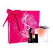 Lancôme La Vie Est Belle confezione regalo eau de parfum 50 ml + rossetto L´Absolu Rouge Matte 378 Rose 1,6 g + mascara Hypnose Noir Hypnotic 2 ml Donna