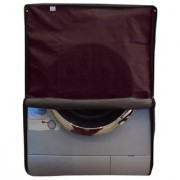 Glassiano waterproof and dustproof Maroon washing machine cover for Samsung WW12H8420EXTL Fully Automatic Washing Machine