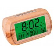 Budzik JVD RB78.2 Imitacja drewna, Termometr
