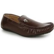 Global India Mens loafer Loafers For Men(Black, Brown)