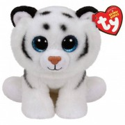 Ty beanie knuffel witte tijger 15 cm