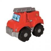 Masinuta de Pompieri cu 15 Cuburi Abrick