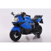 Baby Battery Operated BMW BIKE (BLUE) With Original Music System For Kids