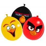 Set 12 baloane party 30 cm Angry Birds