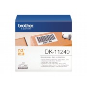 Brother Consumible Original Brother DK11240 Etiquetas precortadas multipropósito grandes (papel térmico). 600 etiquetas blancas de 102 x 51 mmpara...