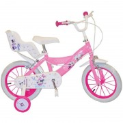 BICICLETA 14 MINNIE MOUSE CLUB HOUSE FETE TOIMSA