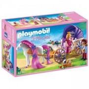 Комплект Плеймобил 6856 - Кралска двойка с карета, Playmobil, 2900131