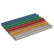 Silverline 10 Stecche Colla A Caldo 7,2 X 100 Mm Glitter