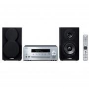 Minicomponente Yamaha MCRN470S Wi-Fi MusicCast Plata