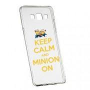 Husa de protectie Minion Keep Calm Samsung Galaxy A5 rez. la uzura anti-alunecare Silicon 209