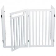 TRIXIE Portão para cães 60-160 cm branco 39363