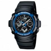 Casio G-choque AW-591-2ADR-Negro + Azul