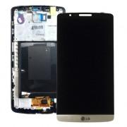 Дисплей + Тъч скрийн + Рамка за LG G3 D855 Черен