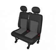 Husa scaun auto bancheta dubla Van Perun DV2 M pentru Citroen Jumpy, Fiat Scudo, Ford Transit, Mercedes Vito, Opel Vivaro, Renault Trafic, Peugeot Expert Kft Auto