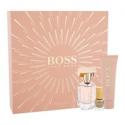 HUGO BOSS Boss The Scent For Her confezione regalo eau de parfum 30 ml + lozione corpo 50 ml + smalto per unghie 4,5 ml da donna