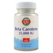 Beta carotene 25000 IU 50cps KAL