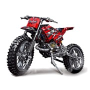 Decool Technic City Moto Cross Bike With Box Building Blocks Toys Bricks Classic Model Kids Toy Children Gift
