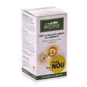 Calciu & Magneziu Organic cu Vitamina D 60cpr Dacia Plant