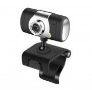 480P USB 2.0 Webcam Cámara Web para portátil con clip Webcam con micró