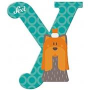 Sevi fa betűk - Y - Yorki türkiz