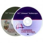 2 CD-uri educationale pentru stetoscoapele 3M™ Littmann®