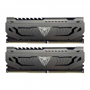 DDR4, KIT 32GB, 2x16GB, 3000MHz, Patriot Viper Steel (PVS432G300C6K)