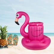 Надуваем Воден Бар за Басейн - Фламинго