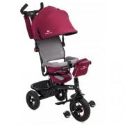 Tricicleta 6 in 1 cu scaun rotativ Swift Purple