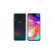 Samsung Galaxy A70 (2019) 6GB 128GB Dual SIM (B20), fekete, Kártyafüggetlen, Gyártói garancia