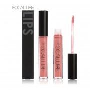 1Pc Long-Lasting Matte Lip Gloss Lipstick Non-stick Lip Brilliant Lip Color 7#