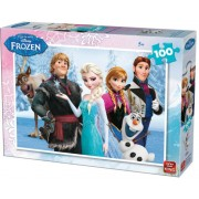Puzzle King - The Snow Queen, 100 piese (05293-A)