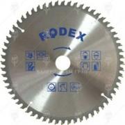 Диск за рязане на алуминий ф250мм 80т - Rodex