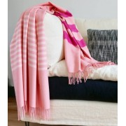 Plaid Laine Alpaga Luxe Altiplano Rose