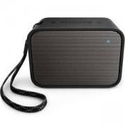 Безжична портативна колонка Philips Bluetooth, Черна, BT110B