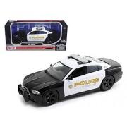 2011 Dodge Charger Pursuit San Gabriel Police Car 1/24 Car Model by Motormax