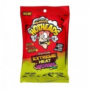 Warheads Hotheads Extreme Heat Worms - Tropical 141g