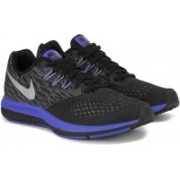 Nike ZOOM WINFLO 4 Running Shoes For Men(Black, Blue)