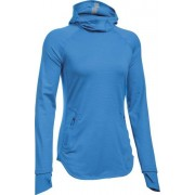 Under Armour UA Balaclava - maglia running - donna - Light Blue