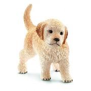 Schleich Puppy Golden Retriever Toy Figure