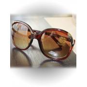 Ochelari de soare cu rama maro