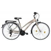 Koliken Gisu RS35 női trekking kerékpár pezsgő