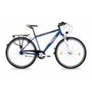 """Csepel Spring 200 férfi városi kerékpár 21"""" Fekete"""