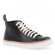 Pantofi Sport Barbati Sneaky Steve Silvermine High Leat Negru