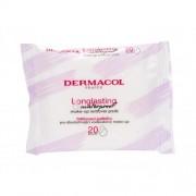 Dermacol Longlasting & Waterproof почистващи кърпички 20 бр за жени